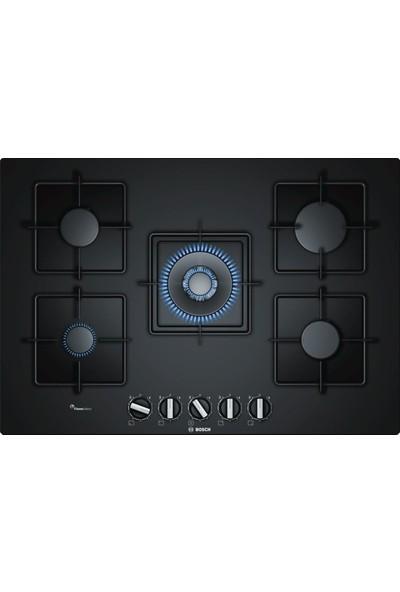 Bosch PPQ7A6B10 75 cm Wok Gözlü Siyah Cam Ankastre Ocak