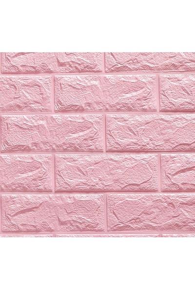 Renkli Duvarlar Çıkart & Yapıştır Kendinden Yapışkanlı 3D Esnek Duvar Kaplama Paneli 6 Adet