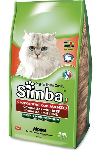 Simba Sığır Etli Kuru Kedi Maması 2 kg