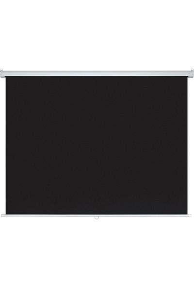 XBLACK XGS-180 180x180 Glass Beads Storlu İthal Projeksiyon Perdesi (Arkası Siyah Fonlu)