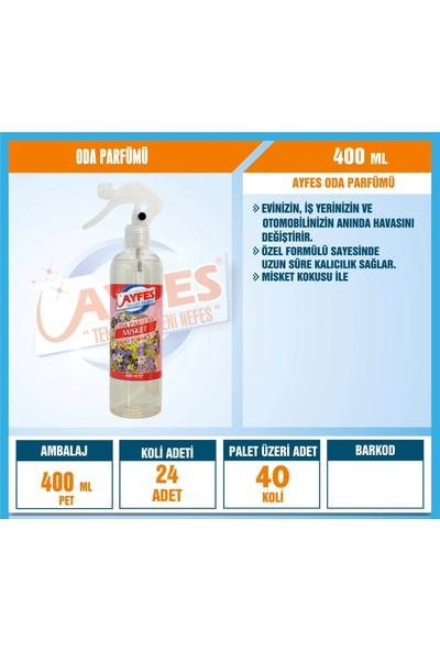 Ayfes Oda Parfümü Mi̇sket 400 ml 24'lü