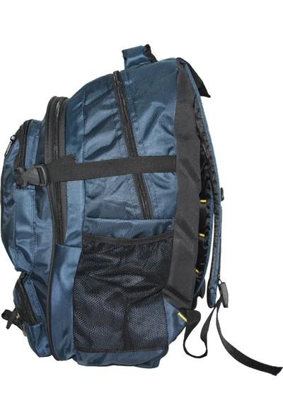 Dağcı Komando Sırt Çantası 4kf Kamp Yürüyüş Trekking Çantası 7753 Lacivert