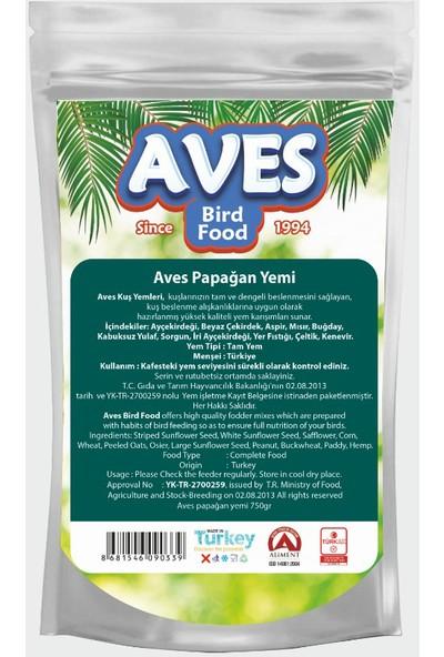 Aves Papağan Jako Gri Amazon Yemi 750 gr x 6 Adet