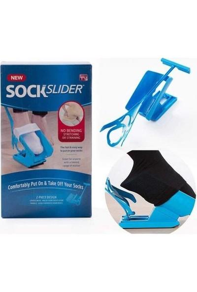 Kolay Çorap Giyme Aparatı Sock Slider Hamile Yaşlı Ampute Bel Fizik Tedavi Medikal