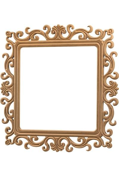 Obut's Home 8151 Bergama Ayna Ci̇lasiz Ahşap