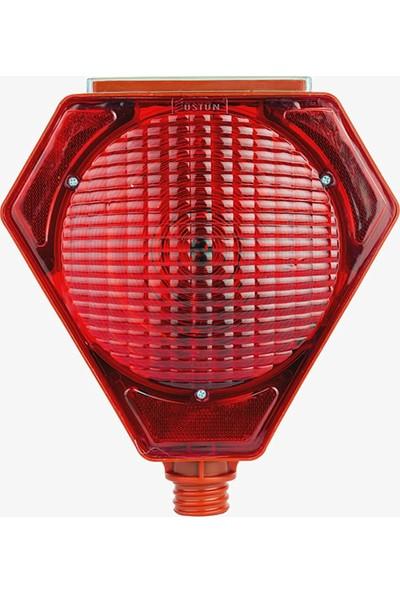 Hse Market Solar Uyarıcı Lamba Kırmızı