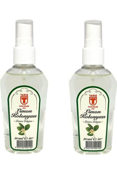 Tari̇ş Sprey Limon Kolonyası 80 ml - 2'li