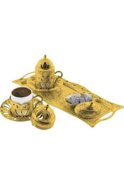 Oryant Defne 2'li Kahve Seti Kutulu