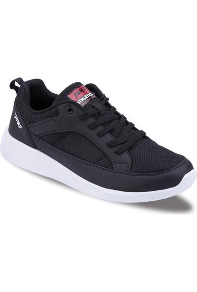 Jump Siyah Genç Günlük Ayakkabı 21173-C-Black-Red