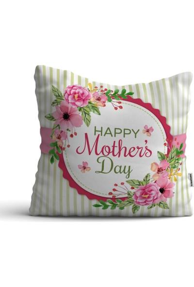 Kırlenthome Anneler Günü Kırlent Kılıfı -12