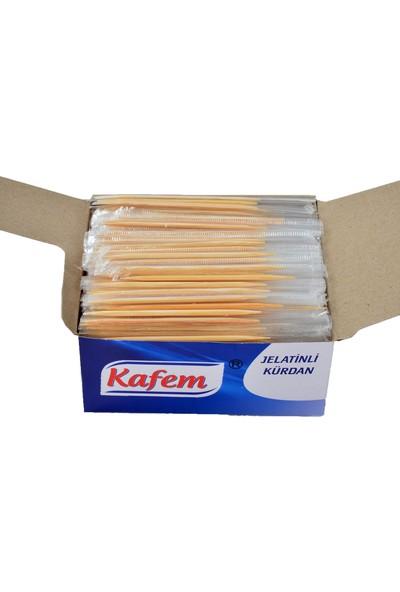 Kafem Jelatinli Kürdan Paket Içi 500' Lü , 5 Paket