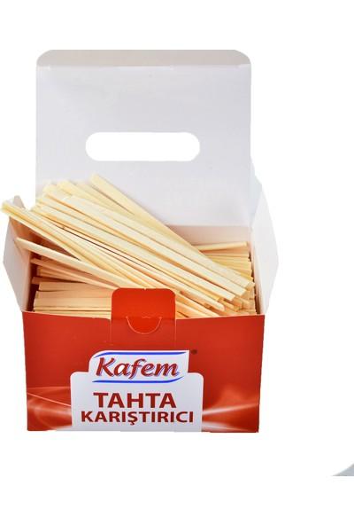 Kafem Tahta Karıştırıcı 11 cm Paket Içi 500' Lü , 5 Paket