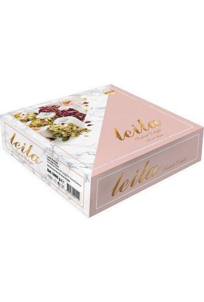 Leila Hi̇ndi̇stan Cevi̇zli̇ Üstü Fındıklı Sultan Lokum 5 kg