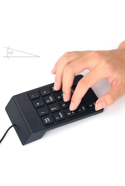 Appa Srf-22 Kablolu USB Numpad Numeri̇k Keypad Klavye