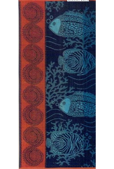 Özdilek Nice Plaj Havlusu Orange Fish 75x150 cm