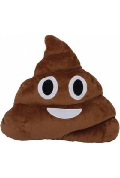 Mory Concept Gülen Poo Emoji Yastık.