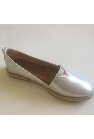 Espadril Kadın Ayakkabı Lastikli