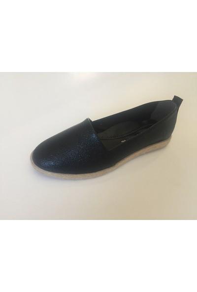 Espadril Kadın Ayakkabı Siyah
