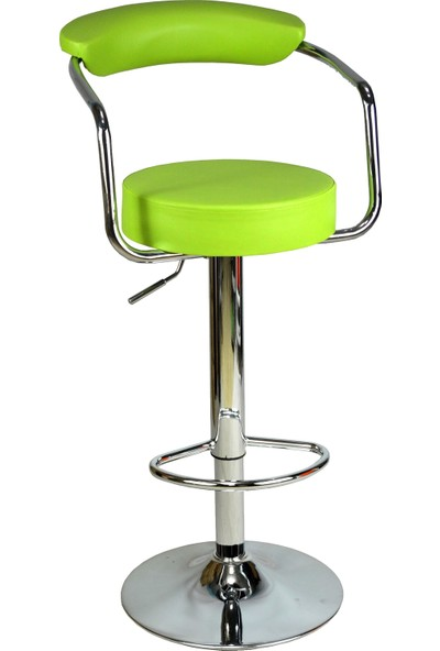 Boombar Monica Bar Sandalyesi - Yeşil Deri - 9510Q0110