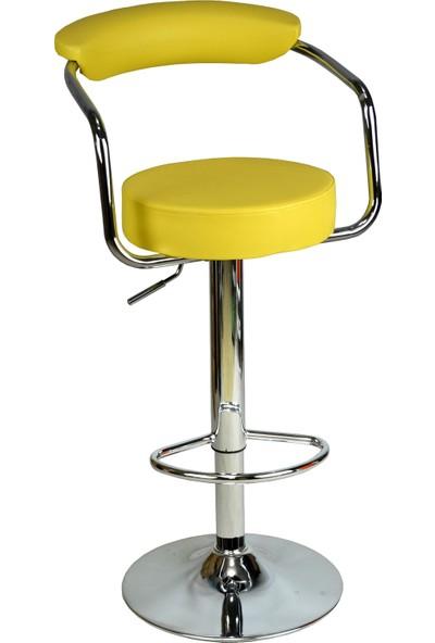 Boombar Monica Bar Sandalyesi - Sarı Deri - 9510Q0113
