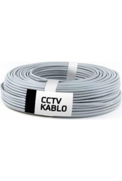 Retro R100-1COAX +2X0,22MM Cctv Güvenli̇k Kablo 100 Metre