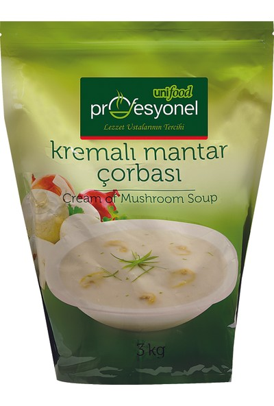 Unifood Kremali Mantar Çorbasi 3 kg