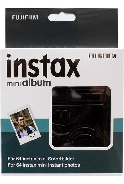 Fujifilm Instax Mini Film Uyumlu Siyah 64'Lü Kare Albüm