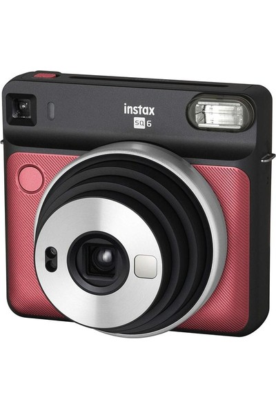 Fujifilm Instax Sq 6 Ruby Red Fotoğraf Makinesi