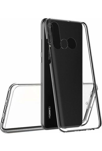 Microsonic Huawei P30 Lite Kılıf 6 Tarafı Tam Full Koruma 360 Clear Soft Şeffaf