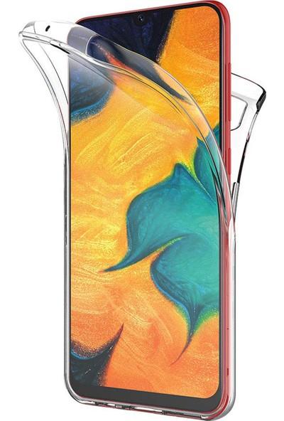 Microsonic Samsung Galaxy A30 Kılıf 6 Tarafı Tam Full Koruma 360 Clear Soft Şeffaf