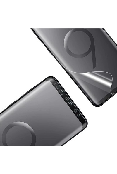 Microsonic Xiaomi Redmi Note 7 Ön + Arka Kavisler Dahil Tam Ekran Kaplayıcı Film