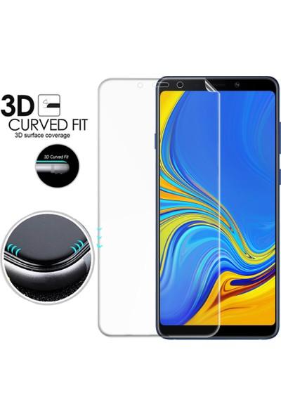 Microsonic Samsung Galaxy A9 2018 Ön + Arka Kavisler Dahil Tam Ekran Kaplayıcı Film