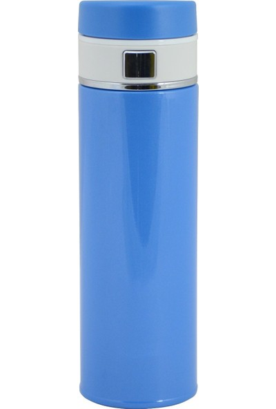 Trendix Easy Secure 420 Ml Çelik Termos Matara - Mavi