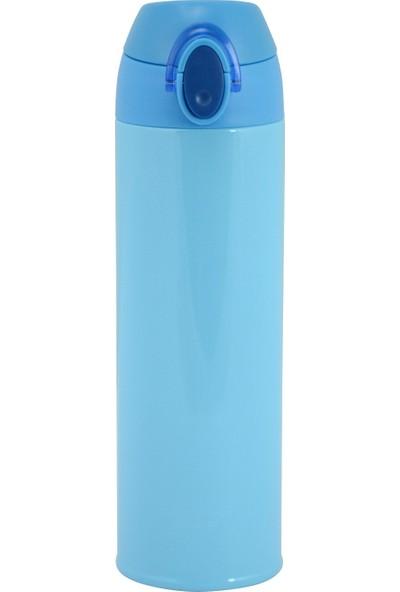 Trendix Super Light 500 Ml Mavi Çelik Termos Matara (Trx-Slt-500-Ma)
