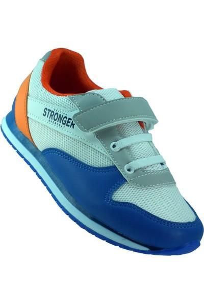 Stronger Günlük Cırtlı Işıklı Çocuk Spor Ayakkabı (25-32)