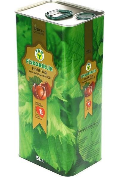 Fiskobirlik Fındık Yağı 5 lt Yüksek E Vitaminli