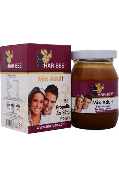 Har-Bee Bal - Propolis - Arısütü - Polen Karışımı Yetişkin 220 gr