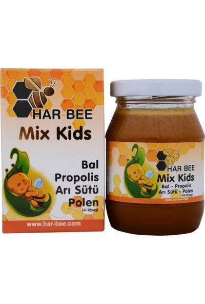 Har-Bee Çocuklar Için Propolis - Arı Sütü - Bal - Polen Karşımı 220 gr