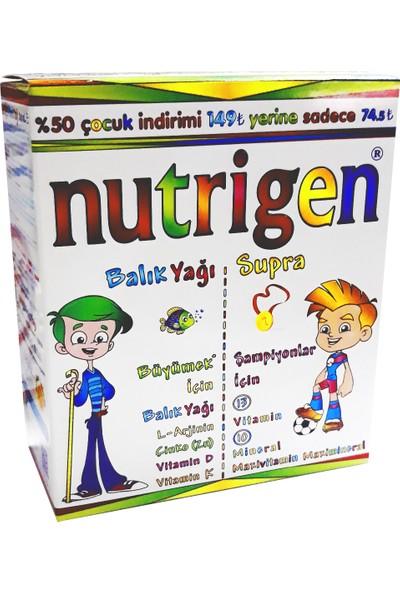 Nutrigen Balık Yağı 200 ml + Supra Şurup 200 ml