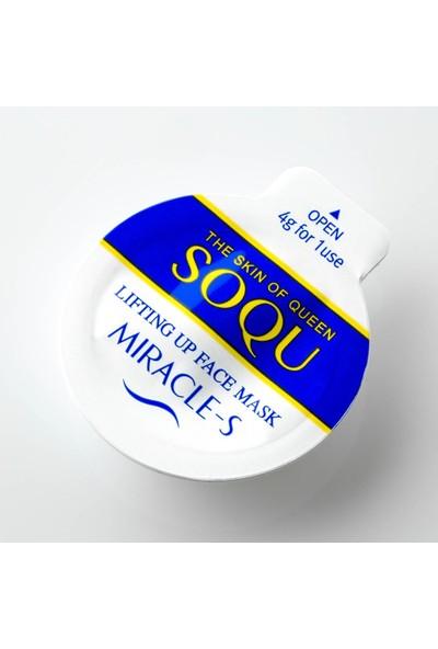 Soqu Lifting Up - Anında Cilt Geren(Kırışık Giderici) Maske 3 Adet