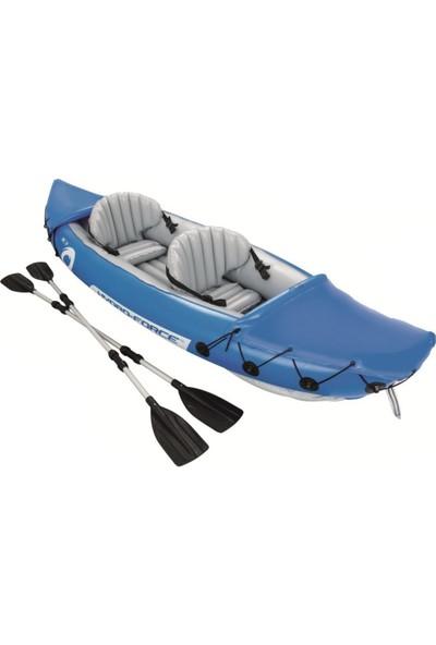 Bestway Hydro Force Lite-Rapid 2 Kişilik Kayak Kano 3.21*88CM 160Kg