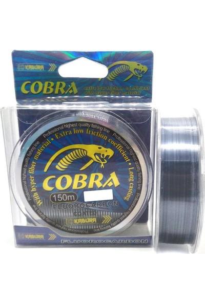 Kabura Cobra Fluoro Carbon Olta Misinası 150Mt