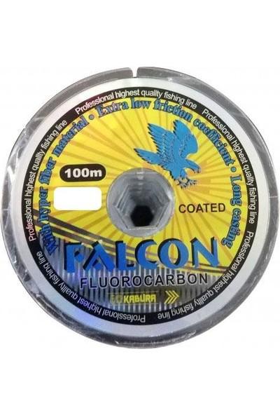 Kabura Falcon FluoroCarbon Olta Misinası 100Mt