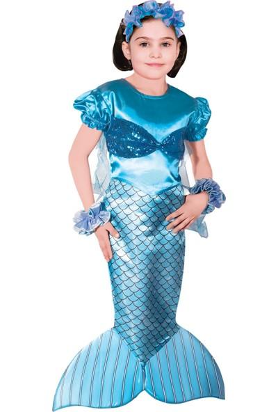 Oulabimir Deniz Kızı Kostümü Çocuk Kıyafeti