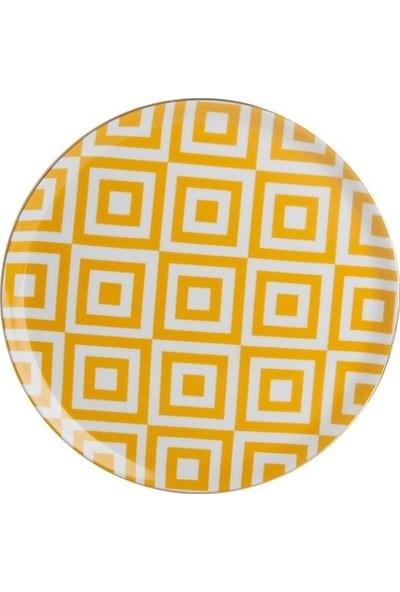 Porland Morocco Porselen Sunum Tabağı Düz 28 cm