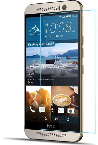 Aktif Aksesuar HTC M9 Plus Temperli Cam Ekran Koruyucu