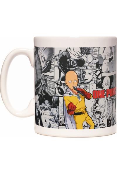 Rock'n Fox One Punch Man Saitama Anime Kupa Bardak