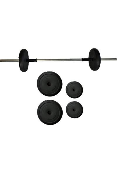 Powerbull Beginner Halter Seti 15 kg Fitness Dambıl Seti Dumbell Set Vücut Geliştirme Spor Aleti