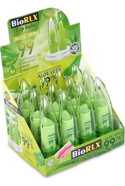 Biorlx 99 Aloe Vera Lip Balm Kırmızı Dudak Dolgunlaştırıcı