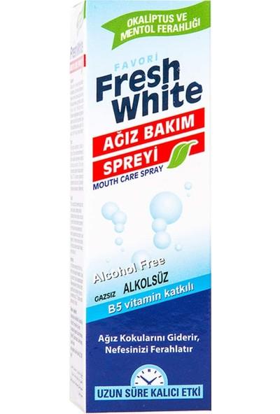 Fresh White Ağız Kokusu Giderici ve Önleyici Sprey 2 Adet